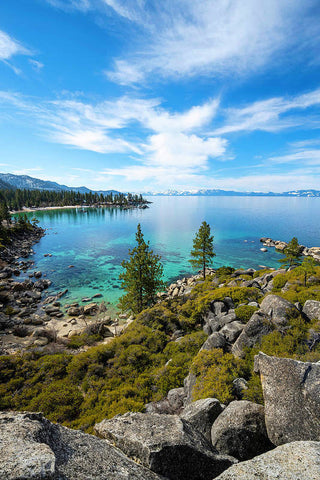 Sand Harbor Views - Art Print