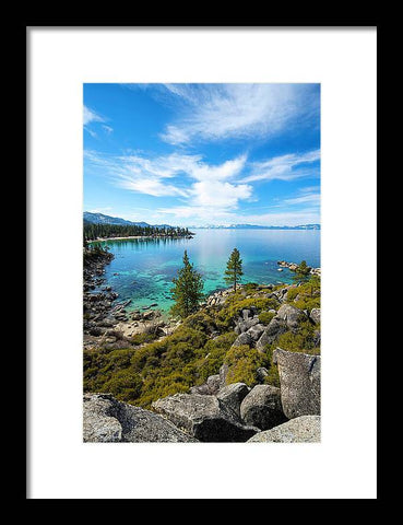Sand Harbor Views - Framed Print