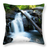 Secret Falls By Brad Scott - Throw Pillow