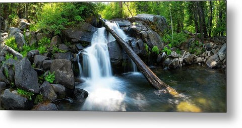 Secret Falls By Brad Scott - Metal Print