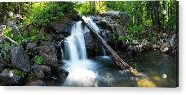 Secret Falls By Brad Scott - Acrylic Print