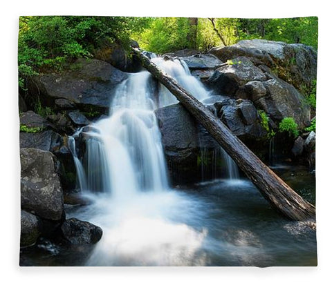 Secret Falls By Brad Scott - Blanket