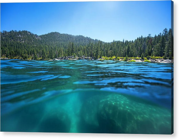 Secret Harbor and Below - Acrylic Print