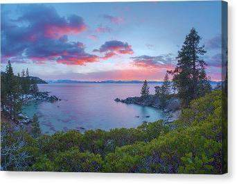 "Secret Paradise by Brad Scott - Canvas Print-10.000"" x 6.625""-Lake Tahoe Prints"