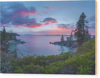 Secret Paradise by Brad Scott - Wood Print