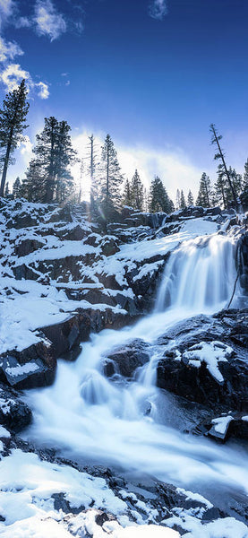 Snowy Falls By Brad Scott - Art Print