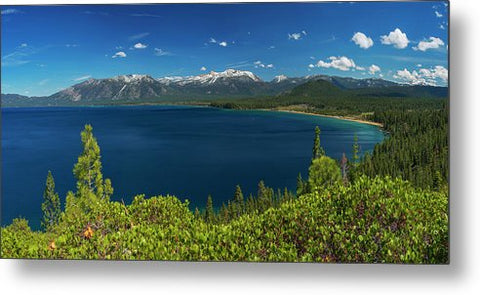 South Shore Lookout By Brad Scott 48x24 - Metal Print