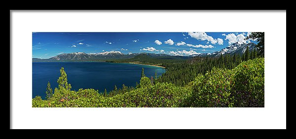 South Shore Lookout By Brad Scott - Framed Print