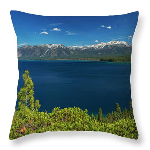 South Shore Lookout By Brad Scott - Throw Pillow