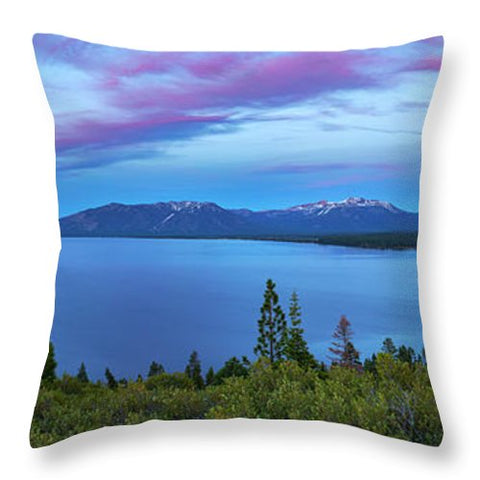 South Shore Sunset By Brad Scott - Throw Pillow