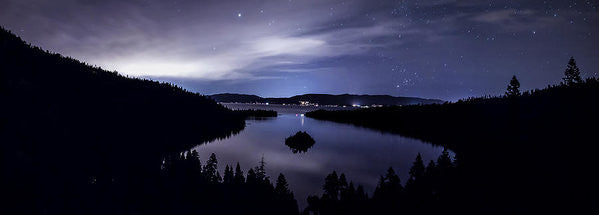 Star Lit Emerald Bay - Art Print
