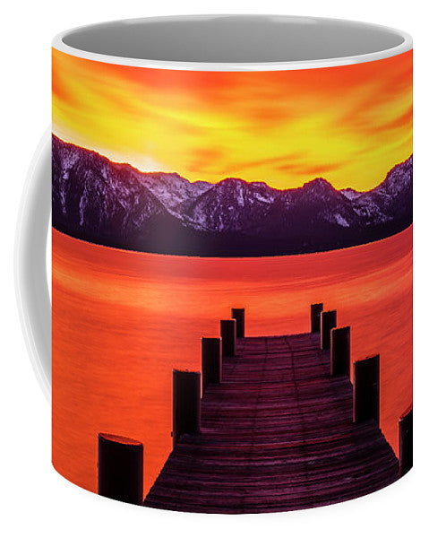 Tahoe Ablaze By Brad Scott - Mug