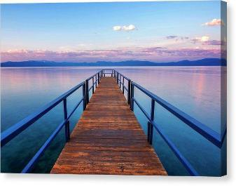 "Tahoe Bliss - Canvas Print-10.000"" x 6.750""-Lake Tahoe Prints"