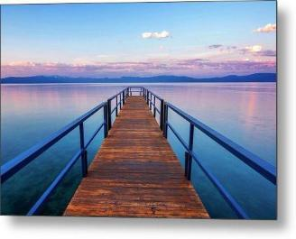Tahoe Bliss by Brad Scott - Metal Print