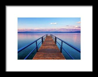Tahoe Bliss by Brad Scott - Framed Print