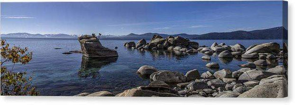 "Tahoe Clarity - Canvas Print-24.000"" x 7.125""-Lake Tahoe Prints"