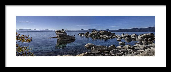 Tahoe Clarity - Framed Print
