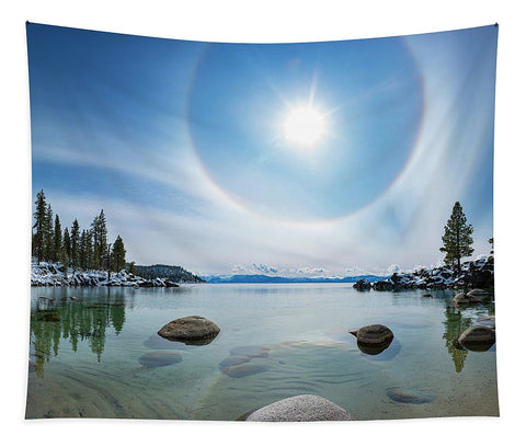 Tahoe Halo By Brad Scott - Tapestry