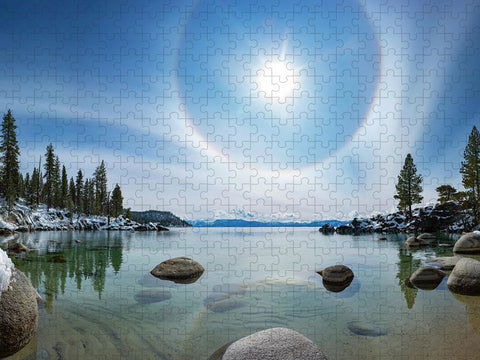 Tahoe Halo by Brad Scott - Puzzle
