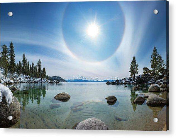 Tahoe Halo By Brad Scott - Acrylic Print