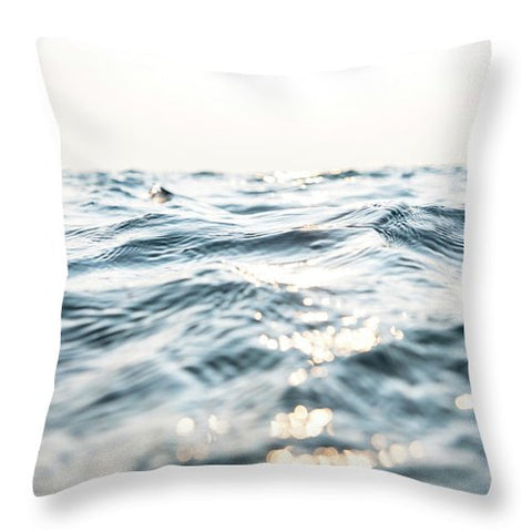 Tahoe Shimmer - Throw Pillow