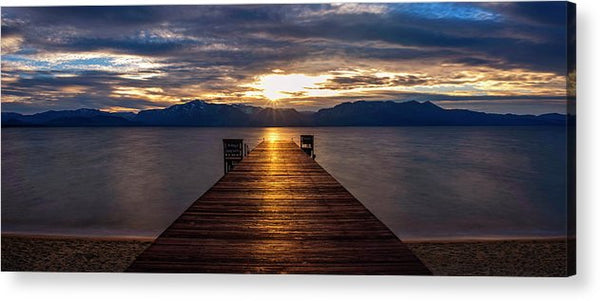 Tahoe Shine by Brad Scott - Acrylic Print