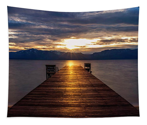 Tahoe Shine by Brad Scott - Tapestry