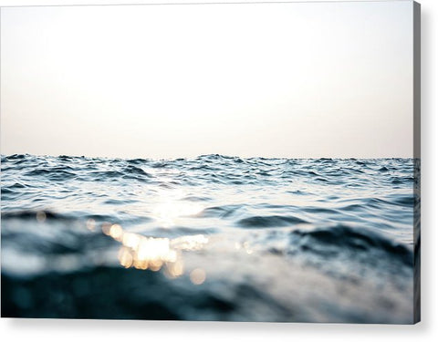 Tahoe Smokey Waters - Acrylic Print