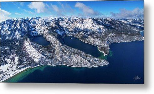 The Gem Of The Sierra by Brad Scott - Limited Edition - Metal Print-Lake Tahoe Prints
