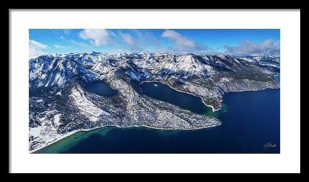 The Gem Of The Sierra by Brad Scott - Limited Edition - Framed Print-Lake Tahoe Prints