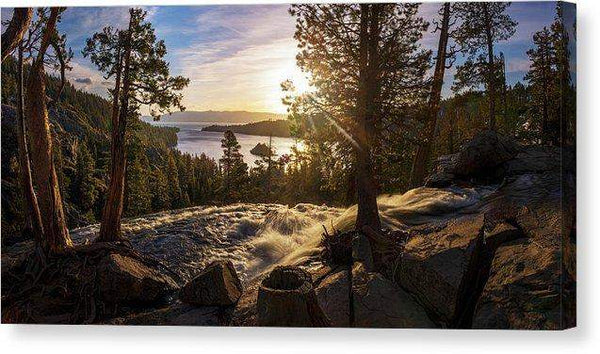 The Heart Of Eagle Falls By Brad Scott - Canvas Print-Lake Tahoe Prints