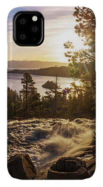 The Heart Of Eagle Falls By Brad Scott - Phone Case