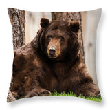 The King Of Tahoe By Brad Scott - Throw Pillow-Lake Tahoe Prints