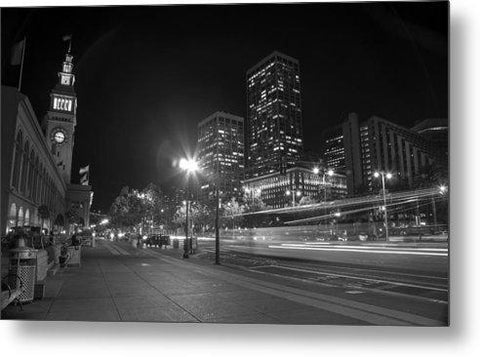Those City Streets by Brad Scott- Metal Print-Metal Print-Lake Tahoe Prints