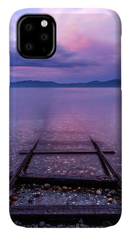 Tracks To Tahoe - Phone Case