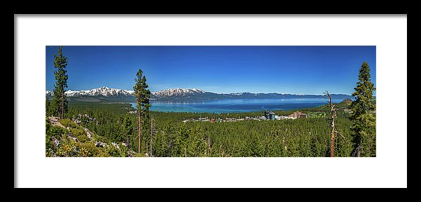 Van Sickle View By Brad Scott - Framed Print