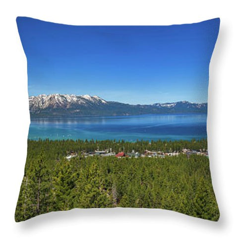 Van Sickle View By Brad Scott - Throw Pillow