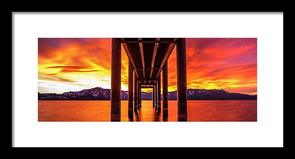 Window Of Perfection - Framed Print-Lake Tahoe Prints
