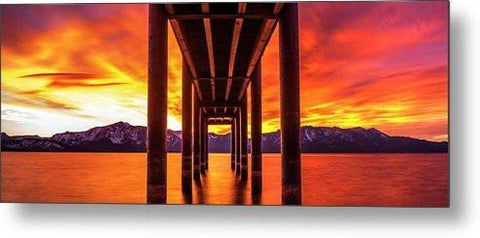 Window Of Perfection - Metal Print-Lake Tahoe Prints