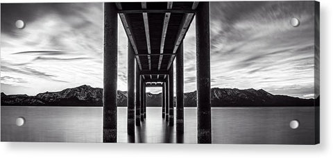 Window Of Perfection Monochromatic by Brad Scott - Acrylic Print