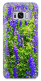 Windy Lupines By Brad Scott - Phone Case