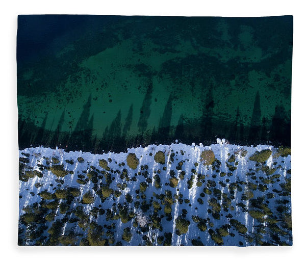 Winter Shores Aerial - Blanket
