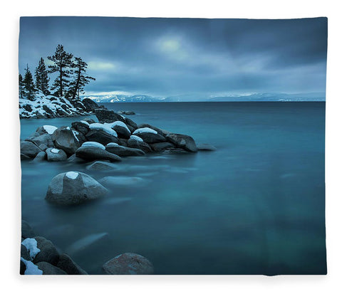 Winter Storm By Brad Scott - Blanket