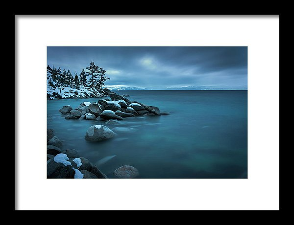 Winter Storm By Brad Scott - Framed Print