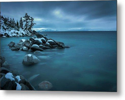 Winter Storm By Brad Scott - Metal Print
