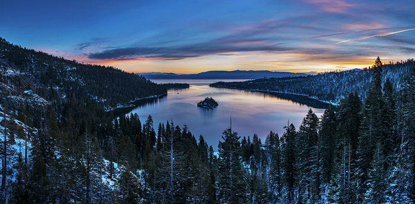 Winters Awakening - Emerald Bay By Brad Scott - Art Print