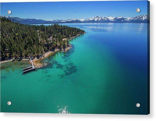 Zephyr Point Aerial - Acrylic Print