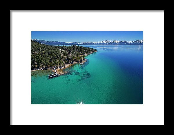 Zephyr Point Aerial - Framed Print