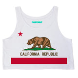 California Republic Crop Top