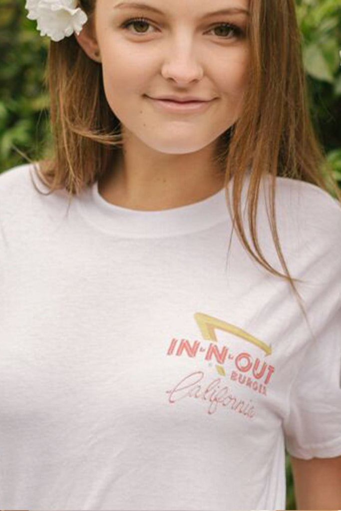 In-N-Out White T-shirt
